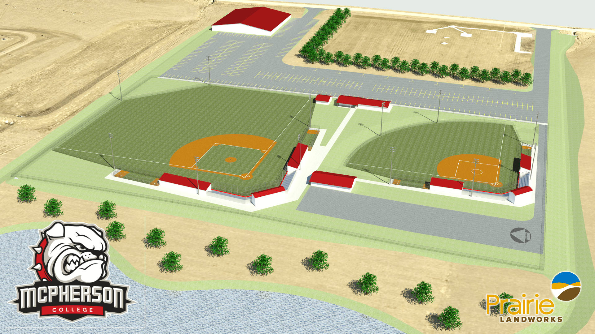 Planning comes to fruition with McPherson College ball fields